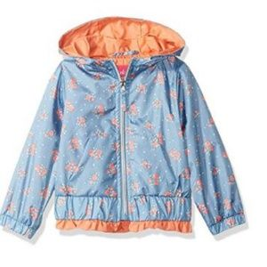 Other - NWT Girls Toddler Ruffled Floral Pastel Jacket
